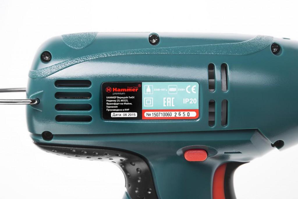 электрическая дрель шуруповерт hammer drl300 premium